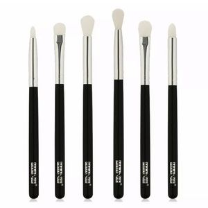 6 PC SYNTHETIC EYESHADOW BRUSH SET